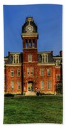 Woodburn Hall In Morning Beach Towel