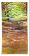 Wooded Sanctuary Beach Sheet