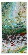 Woodland Abstract Beach Towel