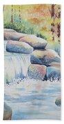 Woodland Falls Beach Towel