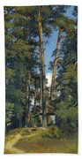 Woodland Grove Beach Towel