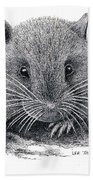 Woodland Jumping Mouse Beach Towel