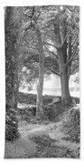 Woods, Troutbeck, Windermere Beach Towel