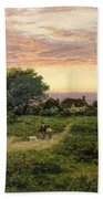 Worcestershire Cottages Beach Towel