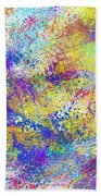 Work 00101 Abstraction Beach Towel