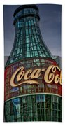 World Of Coca Cola Beach Towel