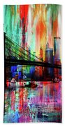 World Trade Center 01 Beach Towel