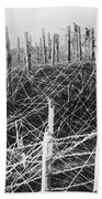 World War I Barbed Wire Beach Towel