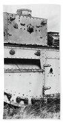 World War I British Tank. For Licensing Requests Visit Granger.com Beach Towel by Granger