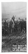 World War I: German Pows Beach Sheet