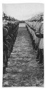 World War I: German Troop Beach Towel
