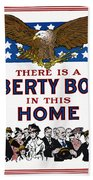 World War I Liberty Bond Ad Beach Towel by Granger