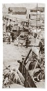World War I: Plane Repair Beach Towel