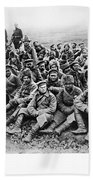 World War I: Prisoners Beach Towel