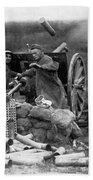 World War I: U.s. Artillery Beach Towel