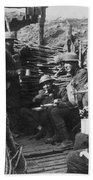 World War I: U.s. Troops Beach Sheet
