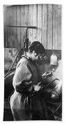 World War I: Women Workers Beach Sheet