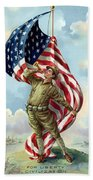 World War One Soldier Beach Towel
