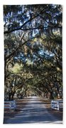 Wormsloe Avenue #2 Beach Towel