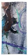 Wounded Concrete Beach Towel