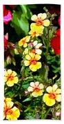 Wp Floral Study 1 2014 Beach Towel