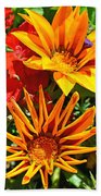 Wp Floral Study 5 2014 Beach Towel