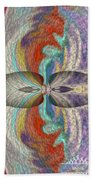 Wrap Oil Art Painting  Beach Towel