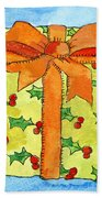 Wrapped Gift Beach Towel