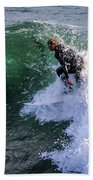 Wrapped In Santa Cruz, Ca Beach Towel