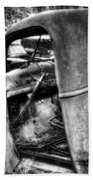 Wrecking Yard Study 11 Beach Towel
