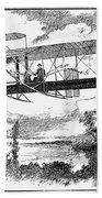 Wright Brothers Plane Beach Towel