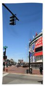 Wrigley Field - Chicago Cubs Beach Towel