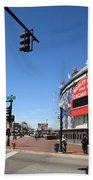 Wrigley Field - Chicago Cubs Beach Sheet