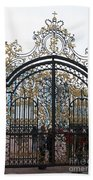 Wrought Iron Gate Beach Towel
