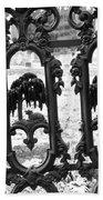 Wrought Iron Gate -west Epping Nh Usa Beach Sheet