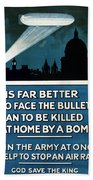 Wwi: Poster, 1915 Beach Towel