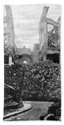Wwi, Ruins Of Arras Cathedral Beach Towel