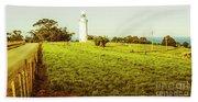Wynyard Lighthouse Way Beach Towel