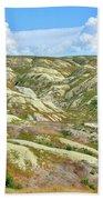 Wyoming Badlands Beach Towel