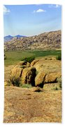 Wyoming Landscape Beach Towel