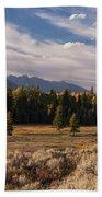 Wyoming Scenery One Beach Towel
