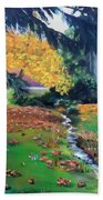 Wyomissing Creek Beach Towel