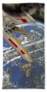 10105 X-wing Starfighter Beach Towel