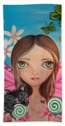 Xenia Fairy Beach Towel