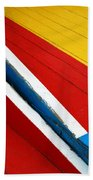 Xochimilco Boat Abstract 1 Beach Towel