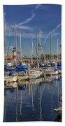 Yachts And Things Beach Towel