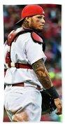 Yadier Molina, St. Louis Cardinals Beach Sheet
