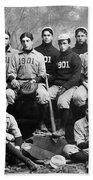 Yale Baseball Team, 1901 Beach Towel
