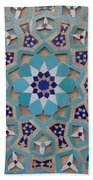 Yazd - Blue Mosaic Beach Towel