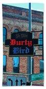 Ye Olde Durty Bird Beach Towel